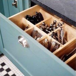 способ хранения столовых приборов