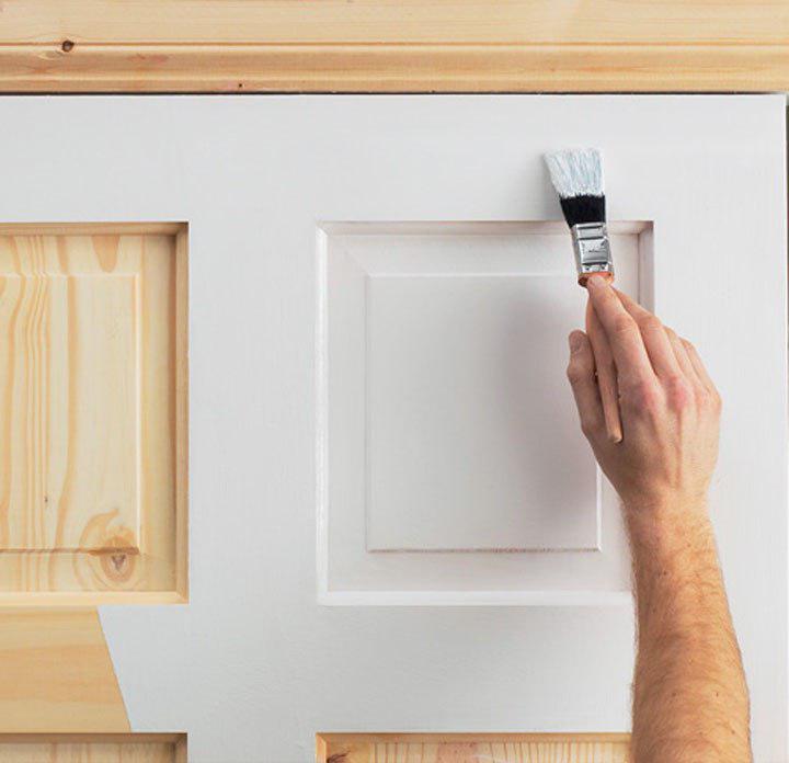 покрасить дверные петли
