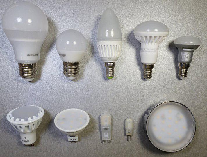 Мощность и световой поток светодиодных ламп