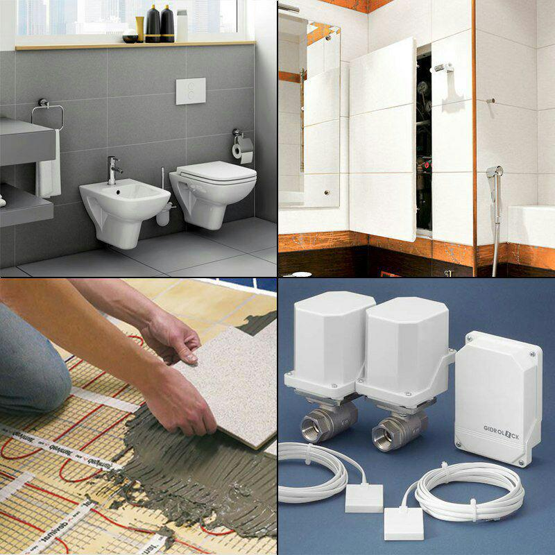 лучшие решения в ремонте туалета и ванной