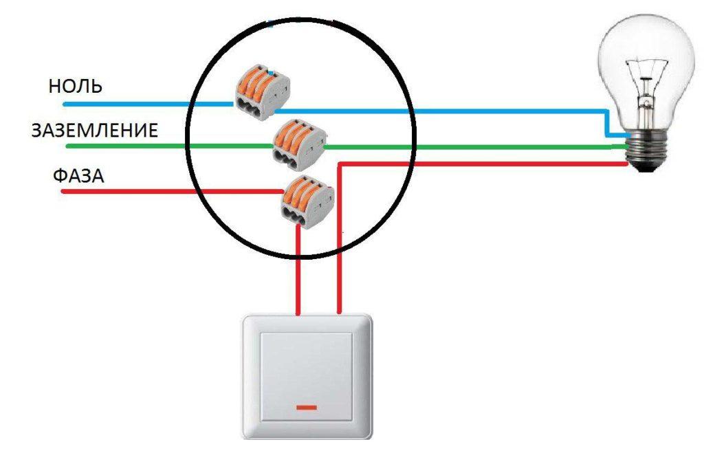 Как подключить розетку от выключателя света