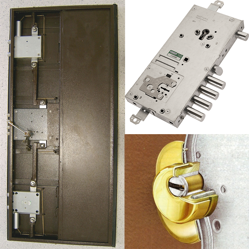 Какие запорные механизмы и дополнительную защиту установить на входную дверь