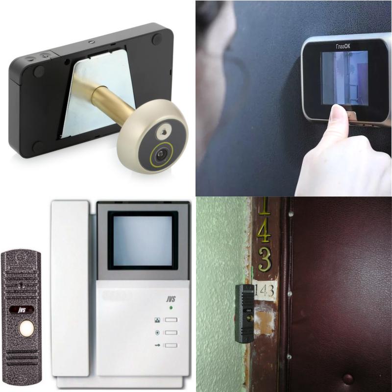 Переговорные устройства для входной двери