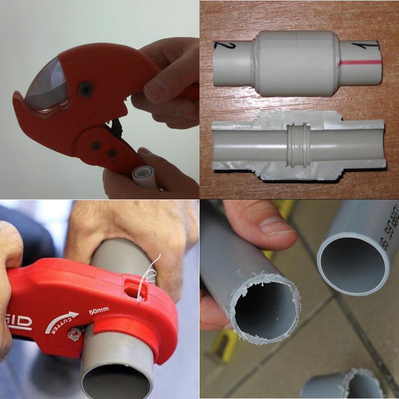 Чем резать пластиковые трубы