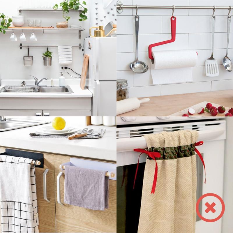Куда повесить полотенце на кухне