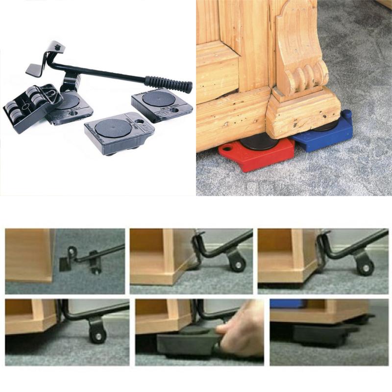 Как передвинуть тяжелую мебель самостоятельно