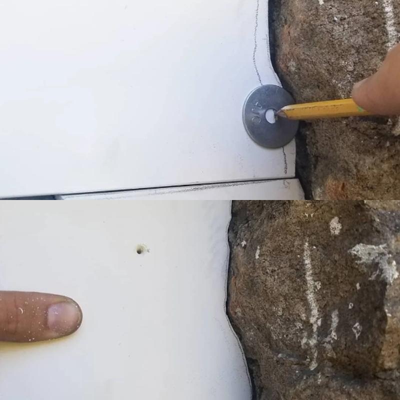 Как перенести контур неровностей стены