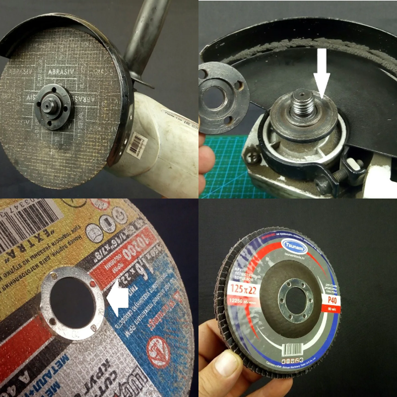 Какой стороной диск на болгарку