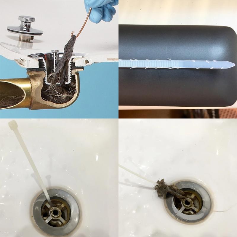 Как прочистить слив ванны без химии