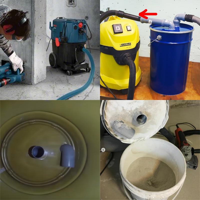 использовать обычный пылесос как строительный