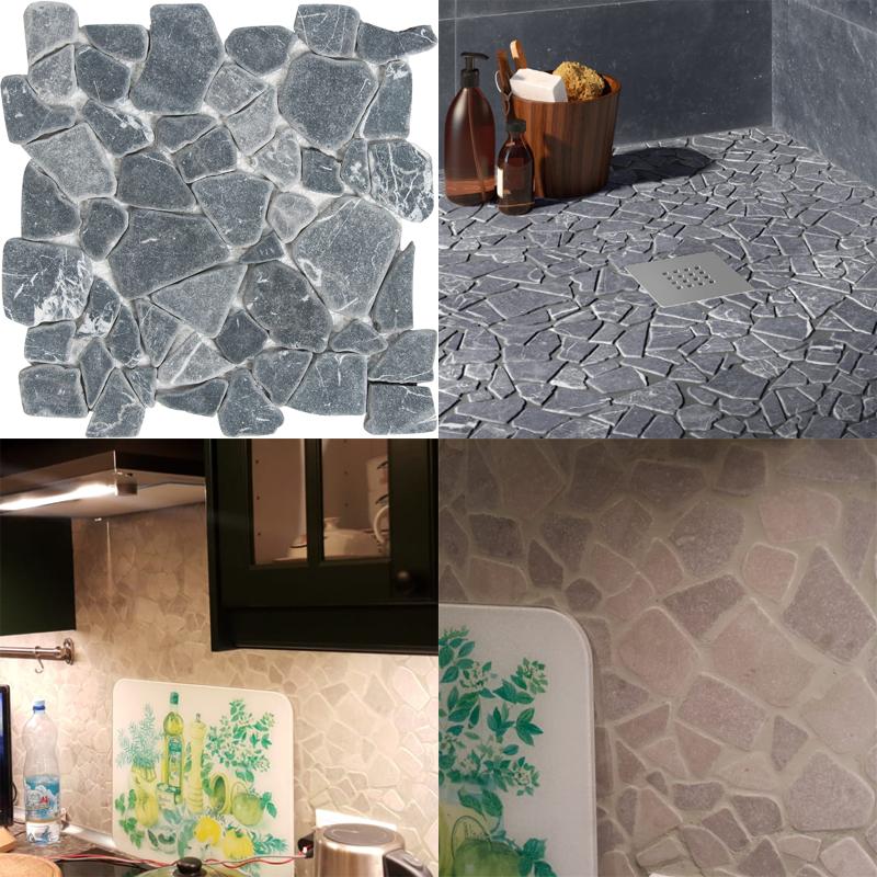 Мозаика из натурального камня — новый материал для декора