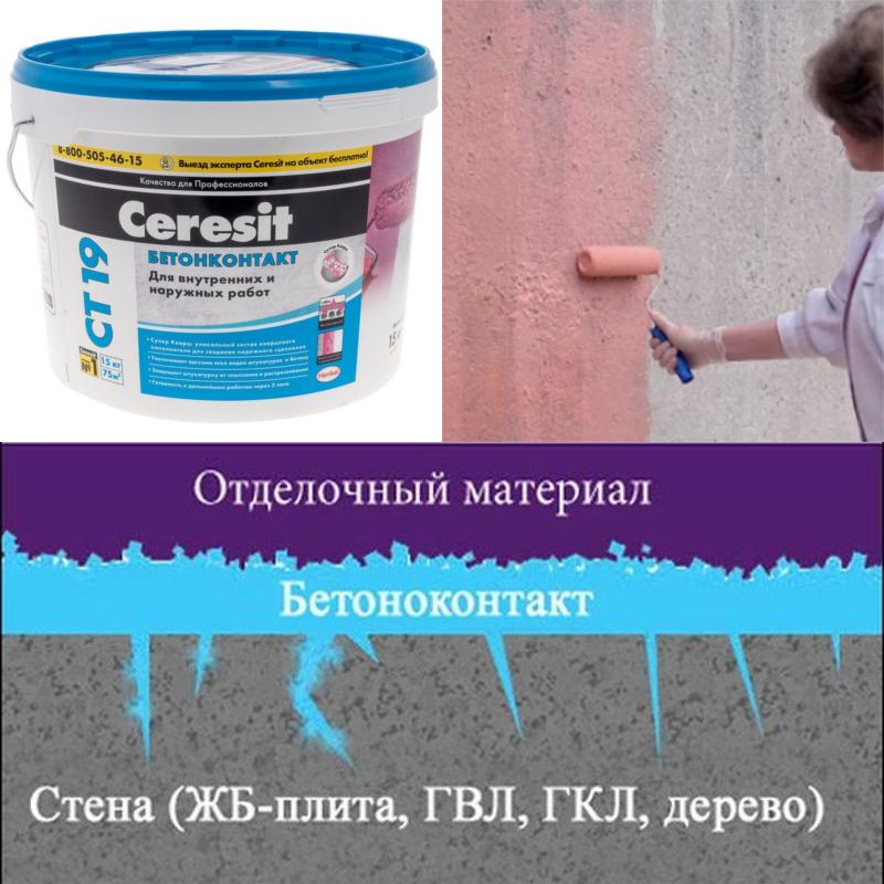 Стоит ли наносить бетоноконтакт перед укладкой плитки на стены?