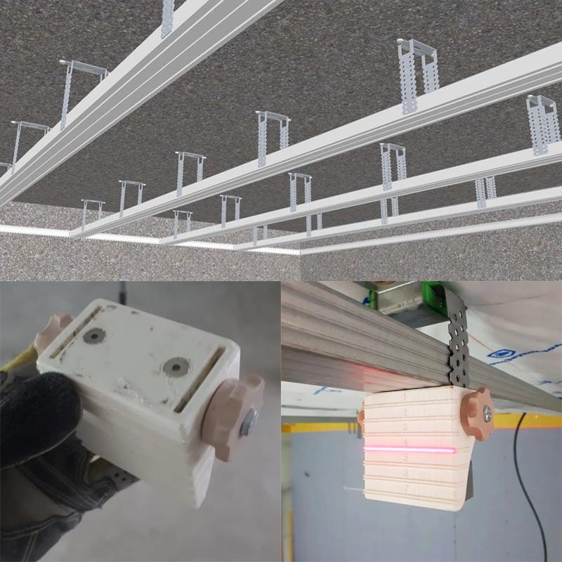 быстро монтировать потолок из гипсокартона