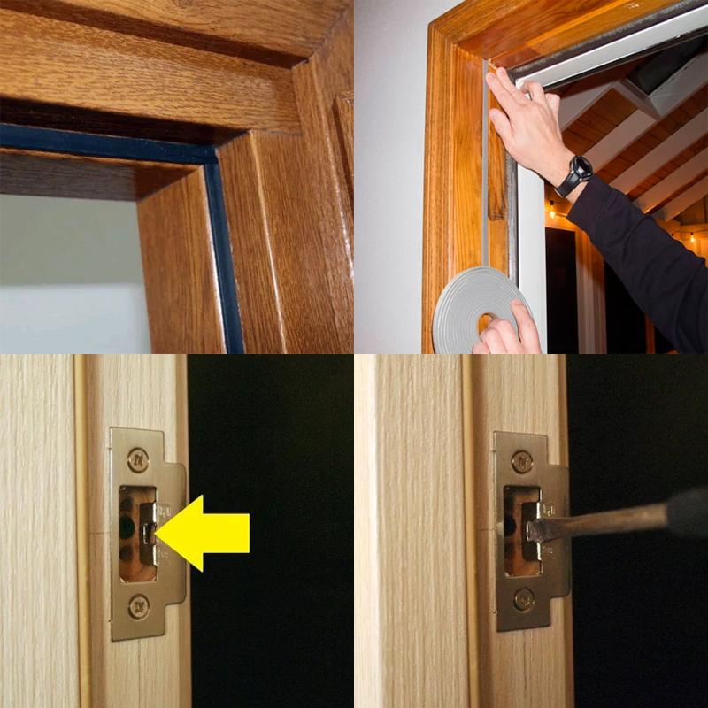 регулировки плотности закрывания межкомнатных дверей