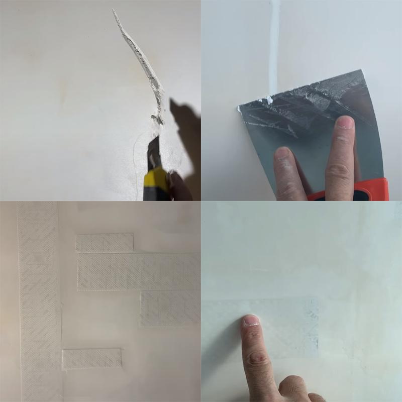 заделать трещины в штукатурке