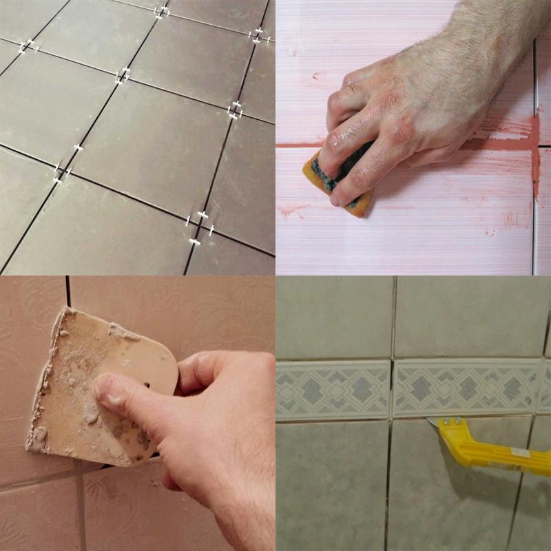 затирать швы сразу после укладки плитки