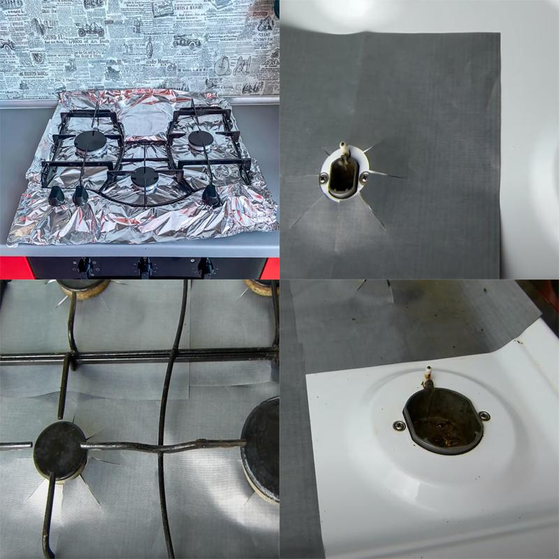 Накладки на газовую плиту