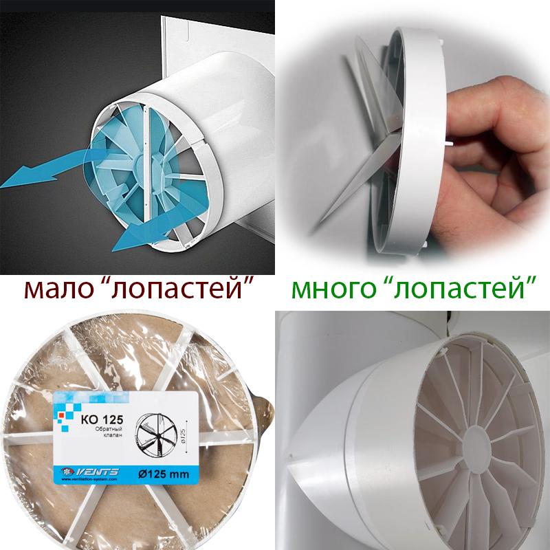 клапан для правильной вентиляции на кухне